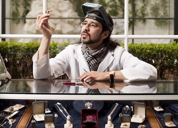 Master Jeweler Juan Da Silva