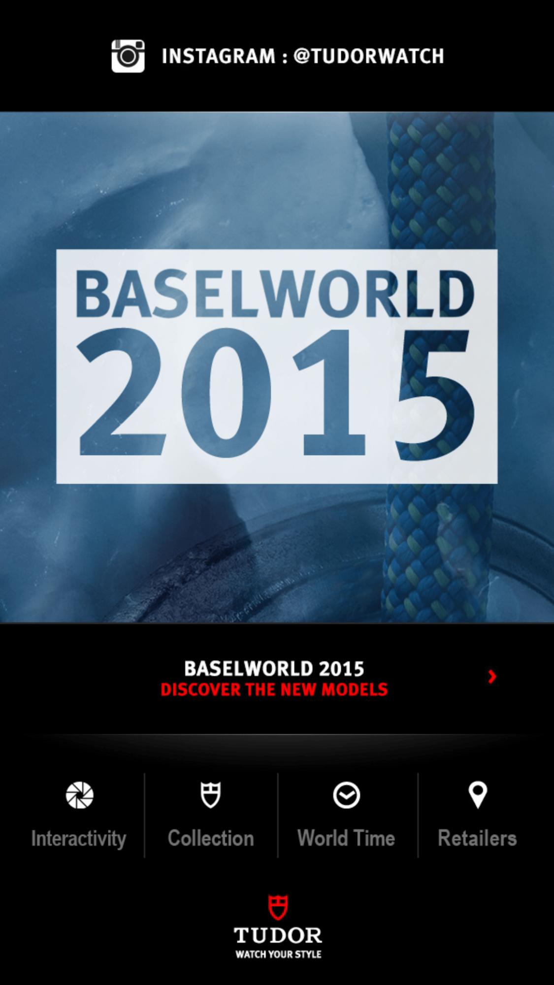 Tudor - Baselworld 2015