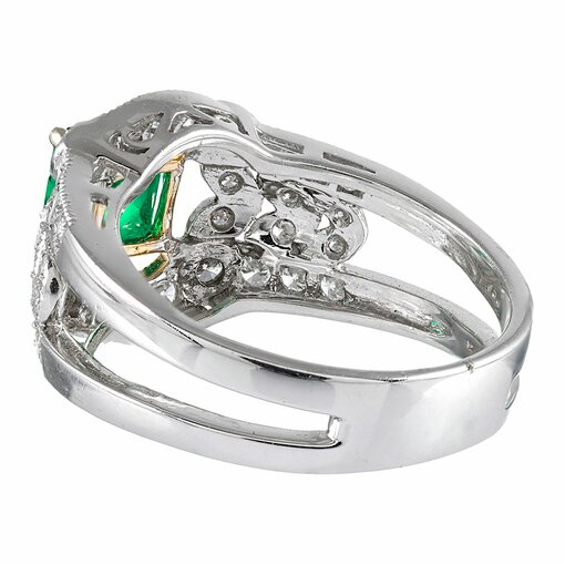 1.09 Carat Edwardian Inspired Diamond Ring