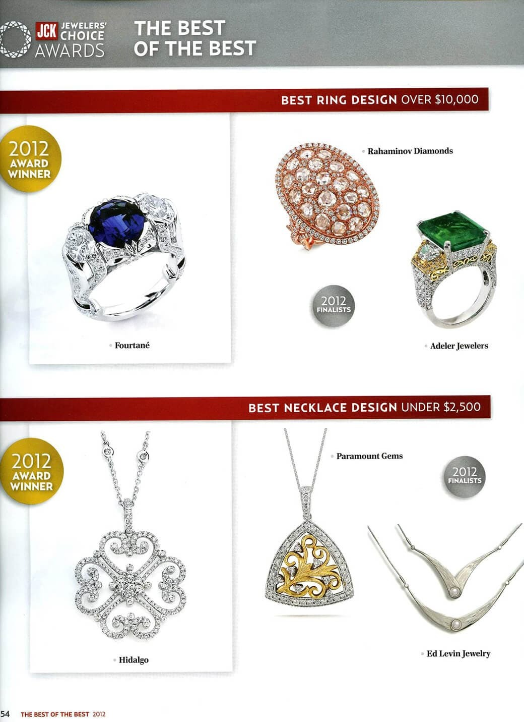 Jewelers Choice Awards