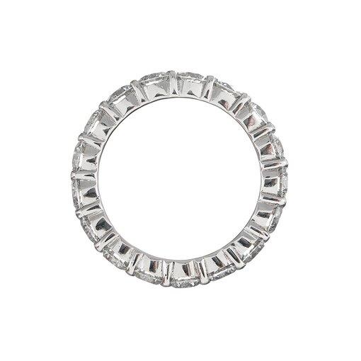 Platinum 5.00 Carat Round Diamond Eternity Band