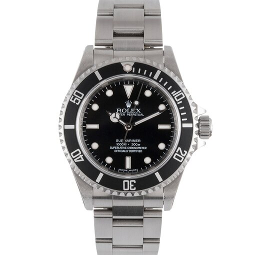 Pre-Owned Vintage Rolex SS Submariner Ref. #14060 sold to Nissan