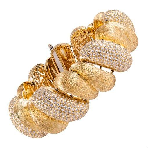 "Henry Dunay ""Sabi"" Collection Diamond Bracelet"