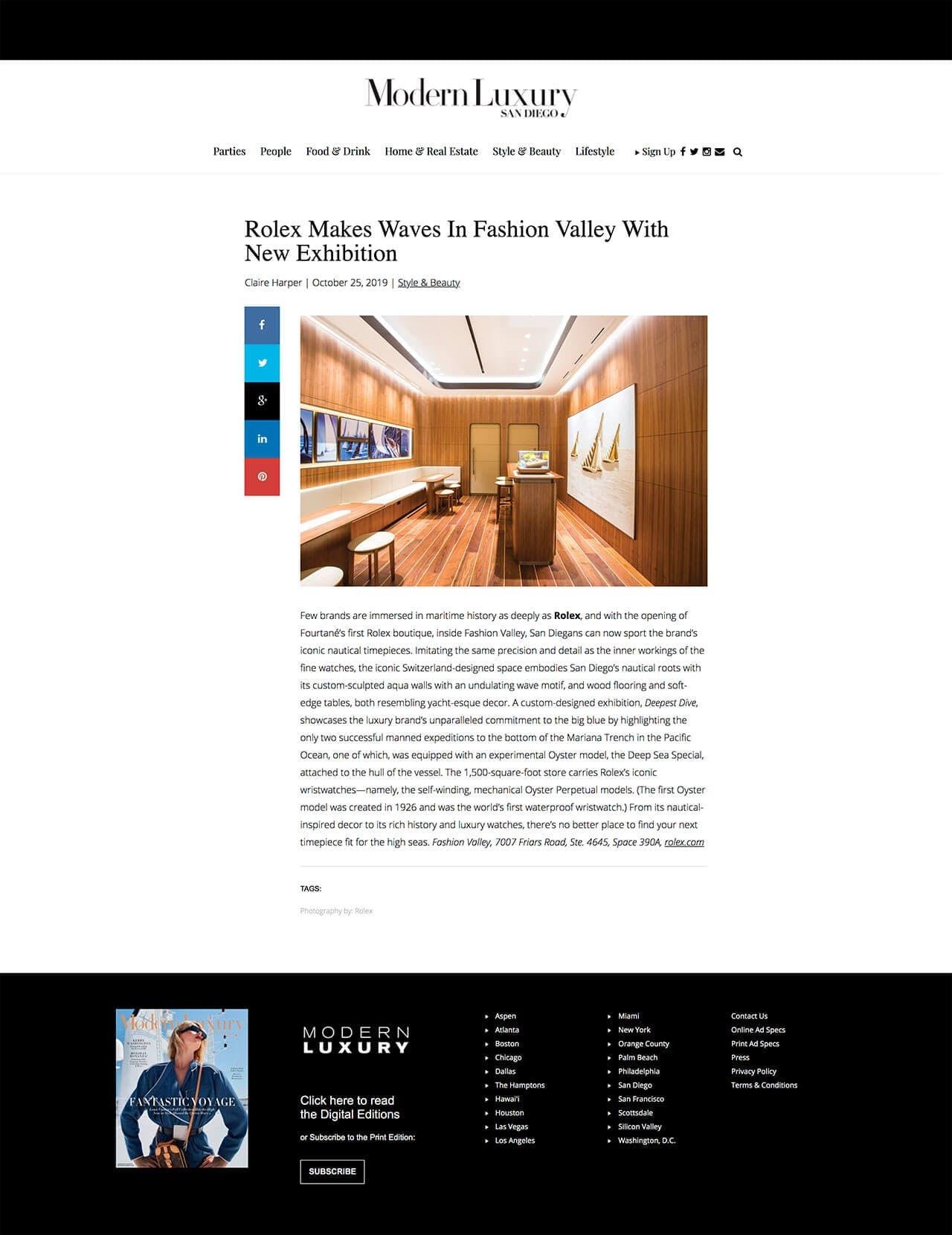 Modern Luxury San Diego