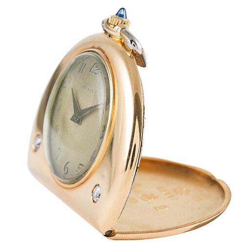 18K Yellow Gold Movado Pocket Watch
