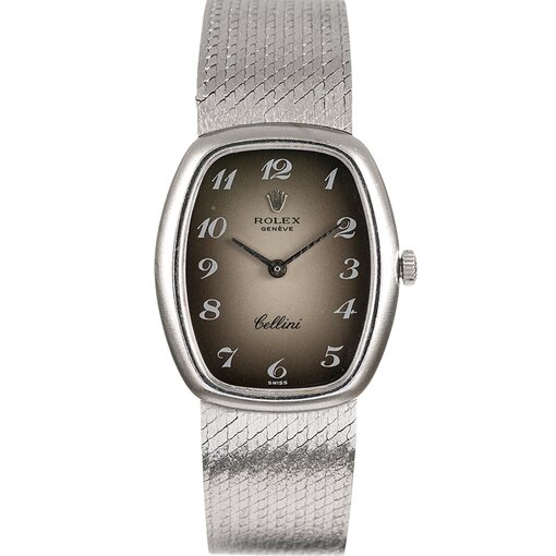 Pre-Owned Vintage Rolex Lady's Cellini with Breguet Numeral Vignette Dial