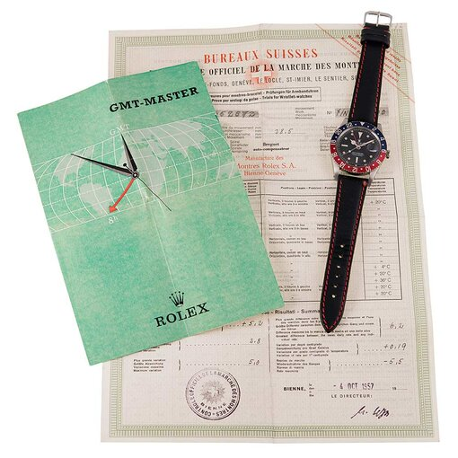 Pre-Owned Vintage Rolex GMT ref. #6542 with COSC Timing Certificate