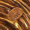 Henry Dunay Textured Golden Swirl Brooch